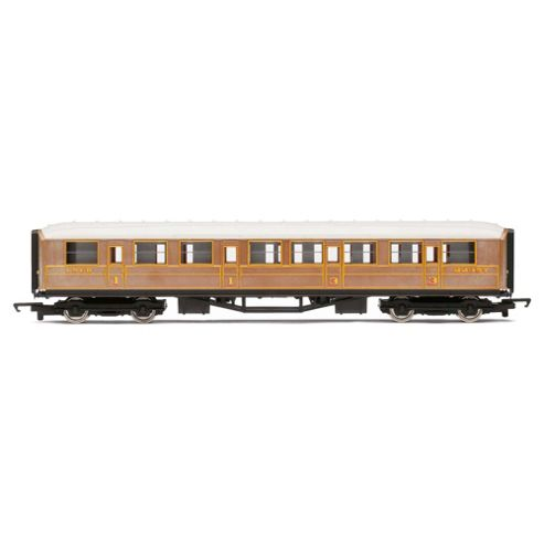Hornby R4332 LNER Teak Composite Coach