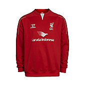 2014-15 Liverpool Warrior Sweat Top (Red) - Red