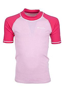 Mountain Warehouse Short Sleeved Kids Rash Vest ( Size: 13-14 yrs )
