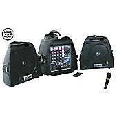 Maplin Djtech Stage Visa 200 Compact 140W Portable Pa System