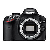 Nikon D3200 Digital SLR Camera - Body Only (Black)