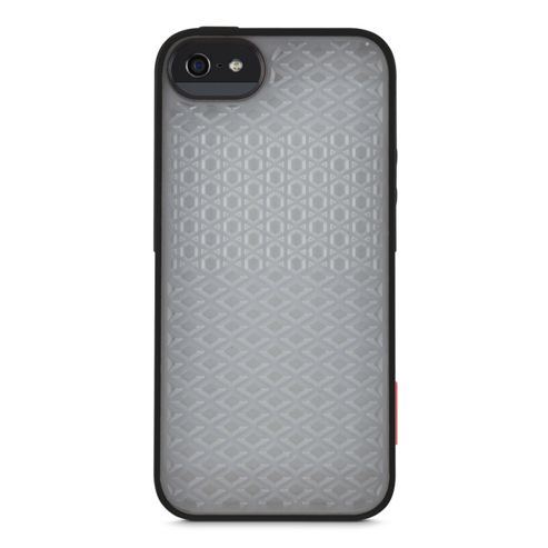Vans Signature 3D Waffle Pattern Surround Case for iPhone 5 in Grey