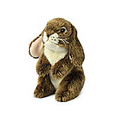 Anna Club Plush Standing Brown Bunny - 18cm