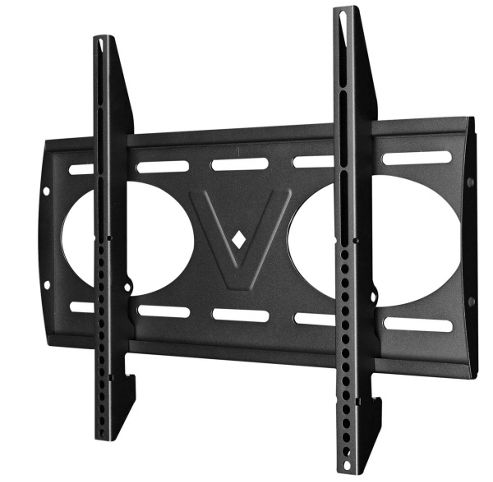 Victory Mounts Flat Black Wall Bracket For 26 inch to 55 inch TVs