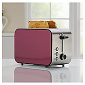 Tesco 2TSSMU15 Mulberry 2 Slice Toaster