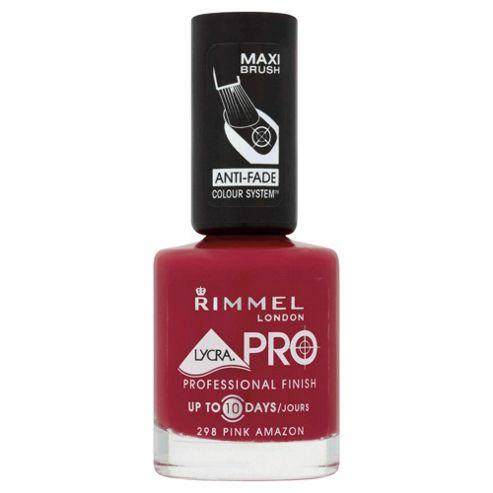 Rimmel Lycra Pro Nail Polish Pink Amazon