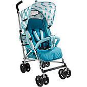 My Babiie MB01 Stroller (Teal Polka Dots)