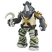 Turtles Mutation Mix N Match Rocksteady Action Figure