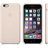 Apple Leather Case for iPhone 6 (Soft Pink)