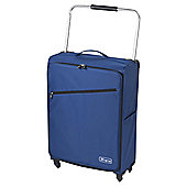 Z Frame 4-Wheel Super-Lightweight Suitcase, Blue Large