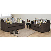 Sweet Dreams Safari Teal 3 & 2 Seater Sofa Set
