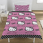 Hello Kitty Polkadot, Single Bedding