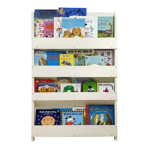 Tidy Books The Tidy Books Childrens Bookcase (White No Letters)
