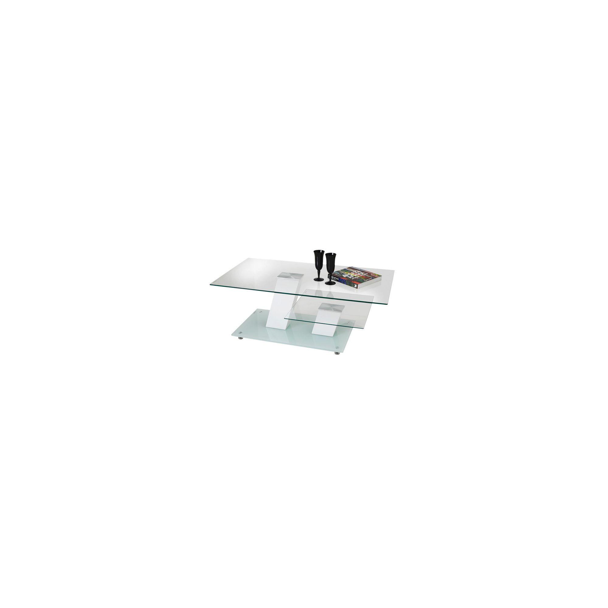 Wilkinson Furniture Zirco Coffee Table - White