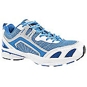 Hi-Tec Ladies Dash Blue and White Running Trainers