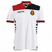 2013-14 Real Mallorca Away Macron Football Shirt - White