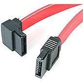 StarTech 8 inch SATA to Left Angle SATA Serial ATA Cable