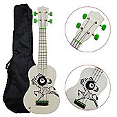 Rocket Soprano Ukulele inc Bag - Zebra