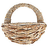 Dobbies Essentials Natural Wall Basket Cotswold
