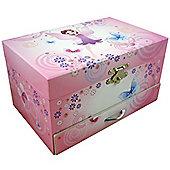 Girl Musical Jewellery Box - Fairy
