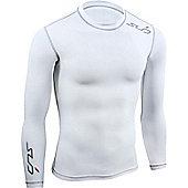 Sub Sports Dual Long Sleeve Top - White