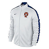2014-15 Portugal Nike Authentic N98 Jacket (White) - White