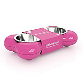 Hing Dog Bowl Bone (Pink)