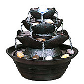 Three Tier Indoor Trickle Fountain - Black