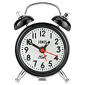 Jones & Co Mini Bell Alarm Black