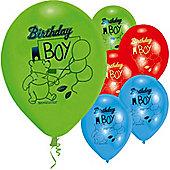 9' Disney Winnie The Pooh Birthday Boy (6pk)