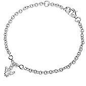 Lily & Lotty For Girls Sterling Silver 0.01ct Diamond GABRIELLA Bracelet