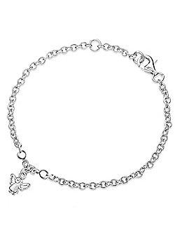 Lily & Lotty Sterling Silver 0.01ct Diamond GABRIELLA Bracelet