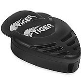 Tiger 12 Guitar Plectrums with Pick Holder - Black