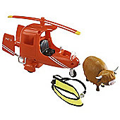 Postman Pat SDS Helicopter with Accessories