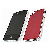 Red MET Case - Apple iPhone 4