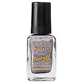 Barry M Nail Paint 338 Silver Glitter 10Ml