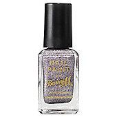 Barry M Nail Paint 338 Silver Glitter 10Ml