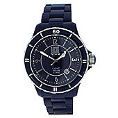 Light Time Blue Navy Mens Date Display Watch - L112E
