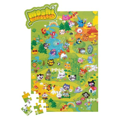 MOSHI MONSTERS Mega Moshling Jigsaw