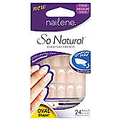 Nailene So Natural Artificial Nails Ovals 71515