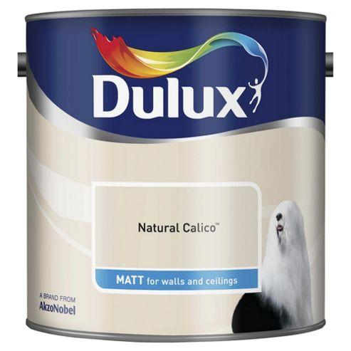 Dulux Matt Emulsion Paint, Natural Calico, 2.5L