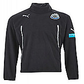 2013-14 Newcastle Puma Half Zip Fleece (Black) - Black