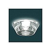 Leucos Igea Recessed Spot - Crystal Chrome / 7W GU 10 Halogen