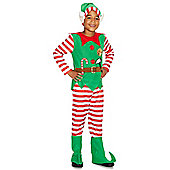 F&F Elf Dress-Up Costume - Green & Red
