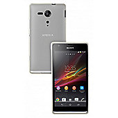 Sony Xperia SP (Huashan) TPU Case Clear With Screen Protector