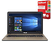 "ASUS X540LA-XX234T 15.6"" Laptop With BullGuard Internet Security"