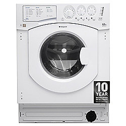 Hotpoint Built-in Washing Machine, 7KG Load, White