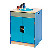 Bigjigs Toys Turquoise and Blue Sink