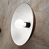 Linea Light Floreale One Light Ceiling/Wall Light in Bronze - 42.4cm