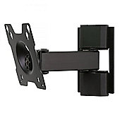 Peerless TruVue TVP140 Pivoting Wall Bracket for 10 inch -26 inch TVs in Black